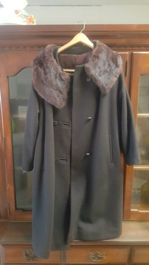 1950s Juillard Michel Daniel fur collar coat for Sale in Raleigh, NC