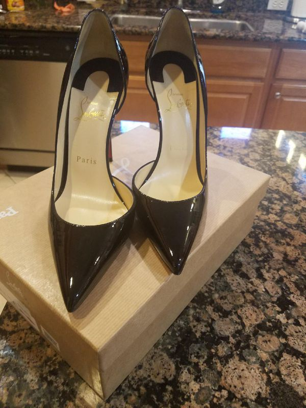 c1fc7f93c0 Authentic Christian Louboutin Heels (Iriza) RED BOTTOMS for Sale in ...