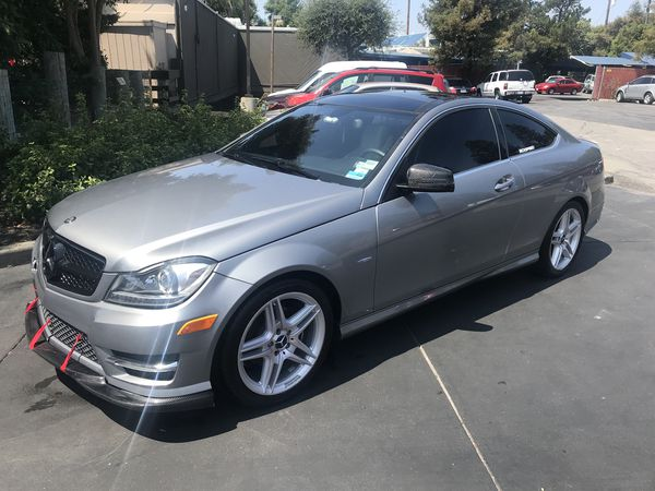 2012 Mercedes Benz C250 Coupe 4Cylinder 1 8L Turbo for Sale in San Jose, CA  - OfferUp