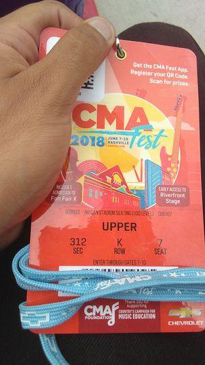 CMA Fest Ticket for Sale in Nashville, TN