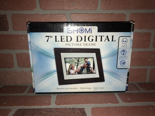 Shomi 7 Led Digital Picture Frame For Sale In Chula Vista Ca Offerup