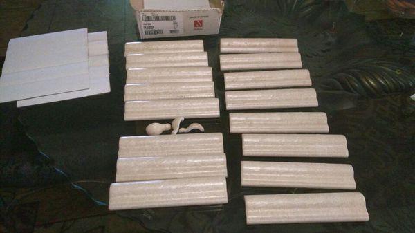 Daltile X Chair Rail Village Bend Wall Tile Pieces For Sale In - Daltile clovis