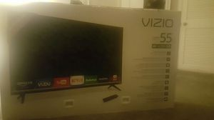 New in box Vizio 55 inch 4k ultr HD TV.. Can also throw in the soundbar that comes with it for Sale in Baltimore, MD