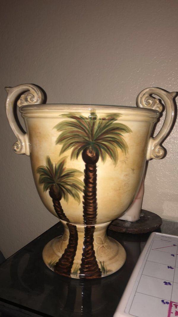 Decorative Palm Tree Vase For Sale In Tucson Az Offerup