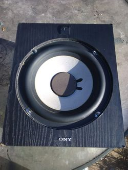 150 watts Sony subwoofer Thumbnail