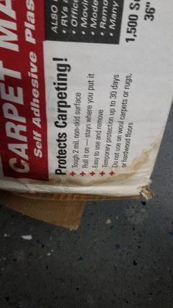 CARPET MASKING TAPE! PROTECT YOUR CARPET Thumbnail