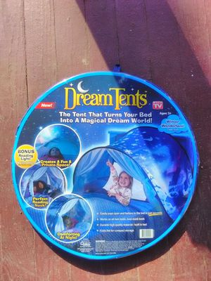 Dream tent-- Winter Wonderland --Turn your bed into a magical dream world! $10 for Sale in Cleveland, OH