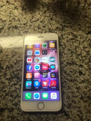 IPhone 6 64GB LIKE NEW with led apple logo for Sale in Alexandria, VA