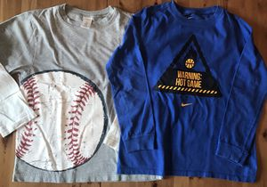 Boy's Nike Gymboree Long Sleeve Shirts Kids Size 7-8T for Sale in Alexandria, VA