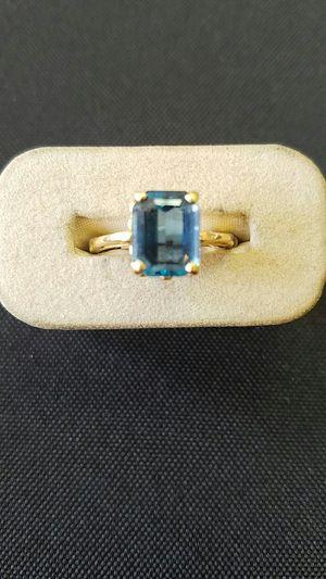 Y/G Blue Topaz Ring! for Sale in Denver, CO