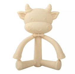 Cutie Cow Silicone Teether Thumbnail