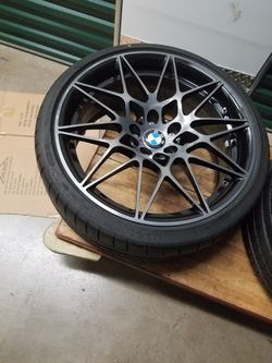 Style 666m bmw rims and tires Thumbnail