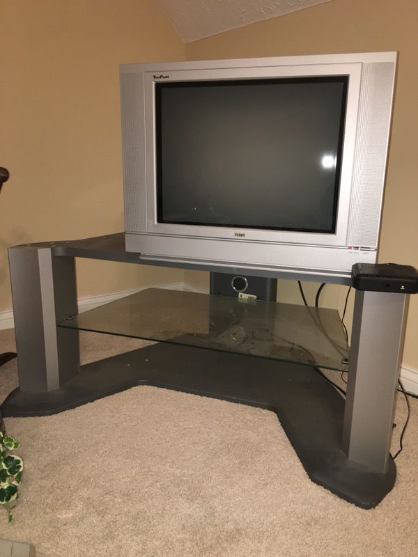 RCA television and Entertainment center