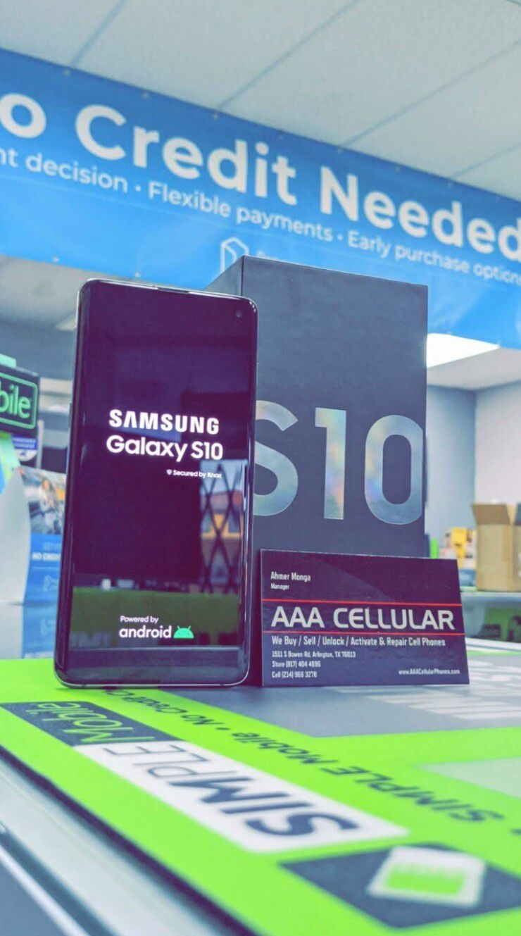 Unlocked Samsung Galaxy S10, 128gb, Excellent condition, Free charger