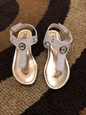 Michael kors toddler girl sandals for Sale in Arlington, VA