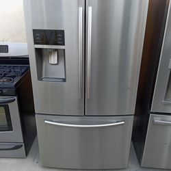 Samsung French Door Refrigerator Stainless Steel  Thumbnail