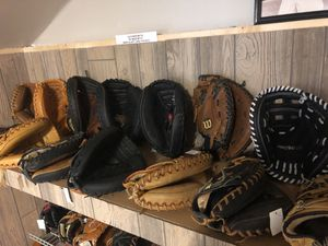 Baseball catcher mitts for Sale in Annandale, VA