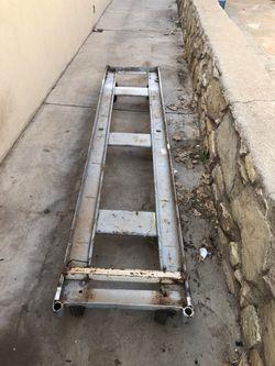 Heavy duty ramp with wheels Thumbnail