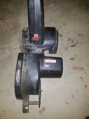 Photo Craftsman & black n decker edger