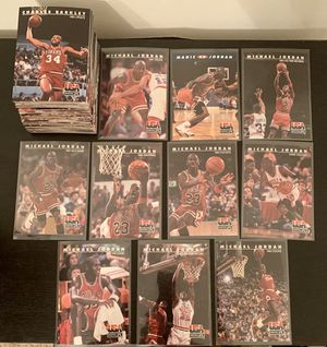 Photo 1992 Skybox USA Basketball Dream Team - Complete 110 card set - 10 Michael Jordan's, + Larry Bird, Magic Johnson...