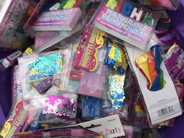 Letters Name Birthday Candles And Balloons For Sale In Baltimore