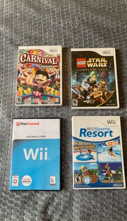 Wii game console Thumbnail
