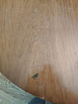 Mid century dining room table w/4 chairs Thumbnail