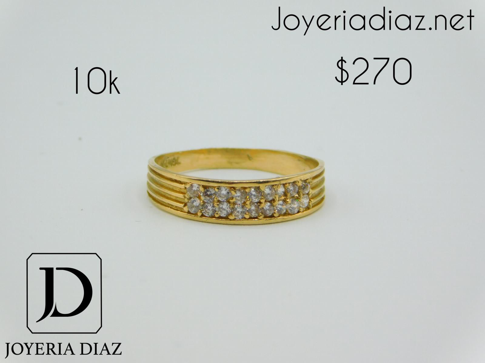 10k gold engagement ring
