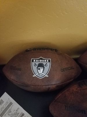 oakland raiders football for Sale in Peoria, AZ