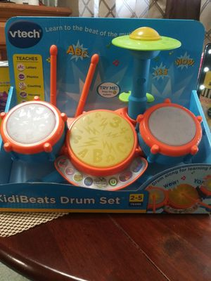Vtech Drum Set (Brand New) for Sale in Modesto, CA