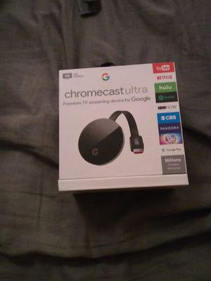 Chromecast ultra for Sale in Silver Spring, MD