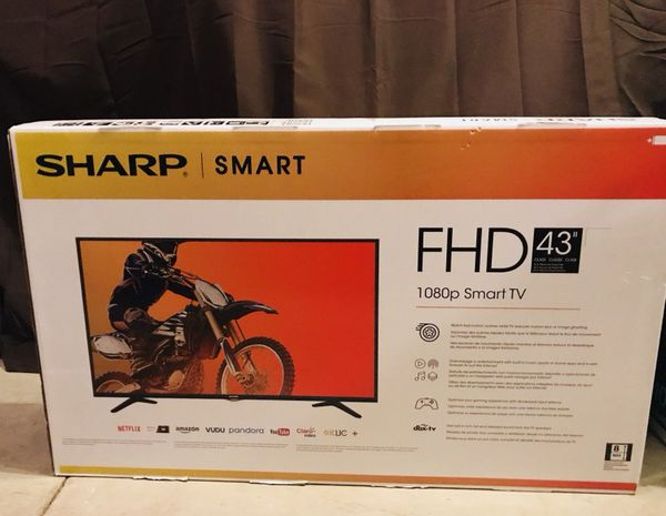 "Brand new in box/ Factory sealed - Sharp 43"" Smart TV + warranty + receipt  (Firm price) for Sale in Canton, MI - OfferUp"