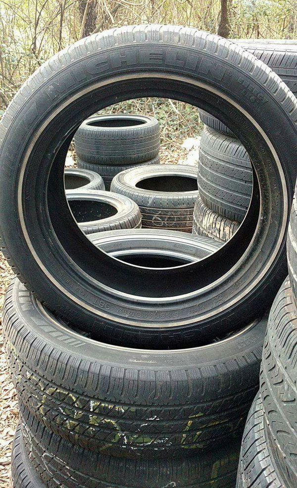 Michelin Whitewall Tires >> 225 60 17 Michelin White Wall Tire Set For Sale In Rutherfordton Nc Offerup