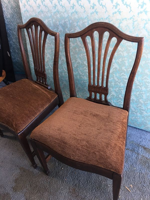 Two antique chairs redone $25 for both for Sale in Albuquerque, NM - OfferUp - Two Antique Chairs Redone $25 For Both For Sale In Albuquerque, NM