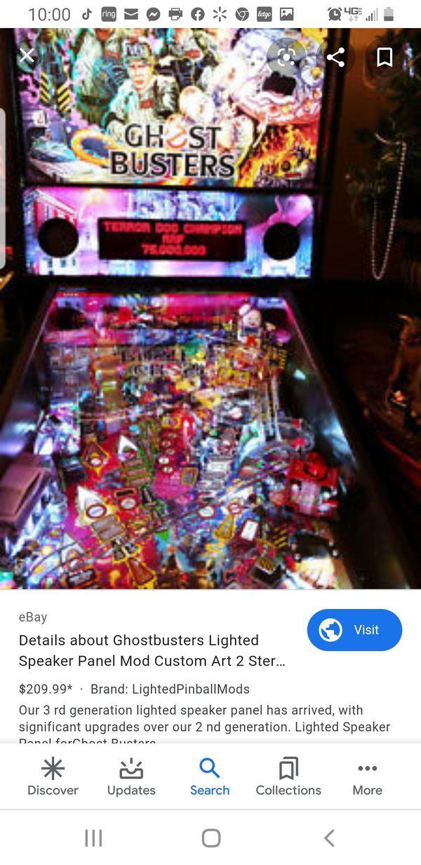 4ft light pinball MOD -