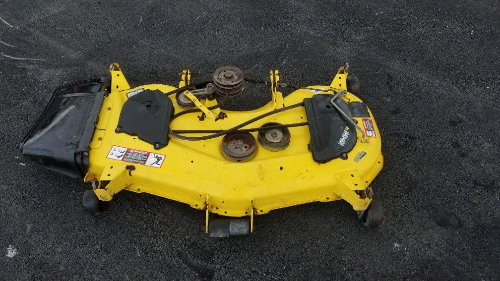 John Deere mower deck 48C OBO