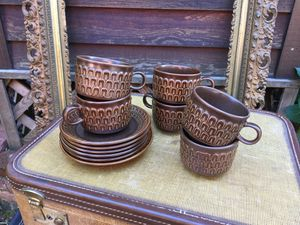 """Vintage Wedgewood """"Pennine"""" Cups and Saucers for Sale in Snoqualmie, WA"""
