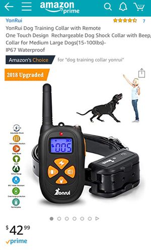 Dog Training Collar for Sale in Silver Spring, MD