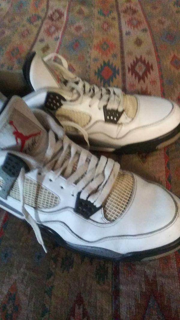 50830f7e0d4798 ... air jordan 4s white cemen size 13 men (clothing shoes) in los angeles ca