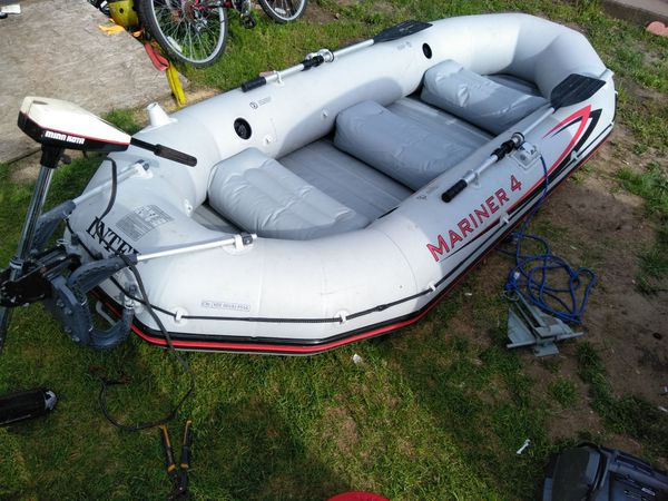 Mriner4 inflatable boat for Sale in Enfield, CT - OfferUp
