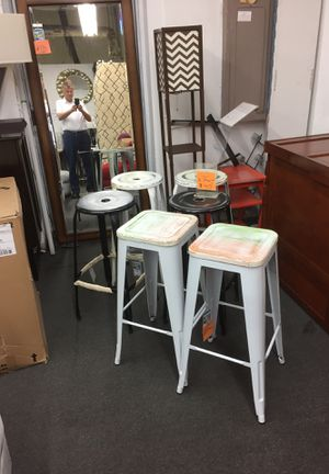 "Set of 2 bar stools 30"" high alexandria for Sale in Alexandria, VA"