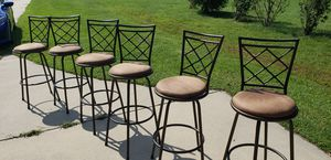 Bar Stools $35 for all 6 (Pending Pickup) for Sale in Clayton, NC