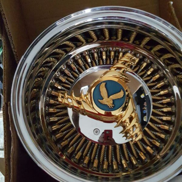 13x7 Bolt On Wire Wheels For Sale In Compton, CA