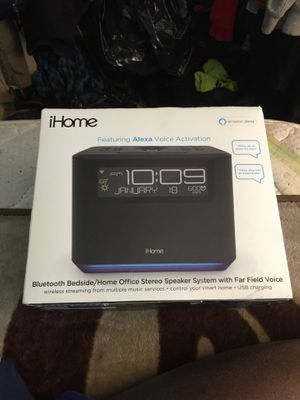 iHome Amazon Alexa for Sale in Queens, NY