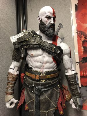 Kratos figure - Neca Giant for Sale in Portland, OR