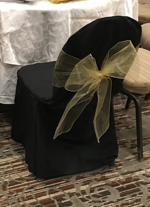 Gold Organza Sashes for Sale in Lexington, KY