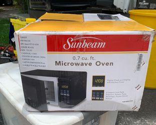 Sunbeam microwave. Used 2 times. Thumbnail