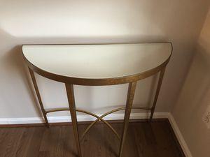 Accent mirror table for Sale in Fairfax, VA