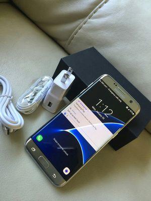 Samsung Galaxy S7 Edge, Factory Unlocked, Excellent condition for Sale in Arlington, VA