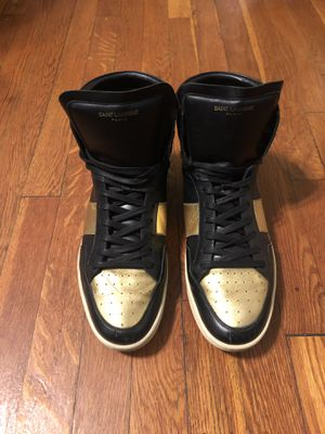 Saint Laurent sneakers size 12 in good condition for Sale in Washington, DC